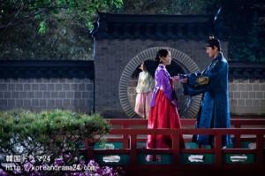 韓国ドラマ チャンオクチョン、愛に生きる14話予告映像!チャンオクチョン(キムテヒ)のために再びびっくりイベントを披露する肅宗イスン(ユアイン)!