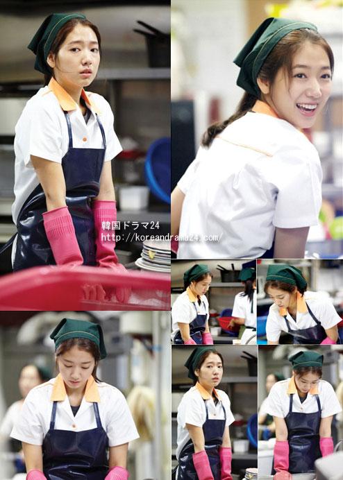 「相続者たち」韓国ドラマでチャ・ウンサン役を演じるパク・シネ、初撮影画像!