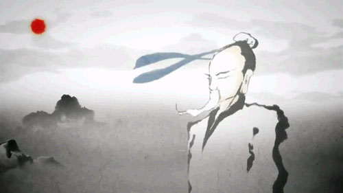 信義韓国ドラマあらすじ1話!水墨アニメーションという新しい手法で表現された華佗(ファタ)、動画キャプチャ!