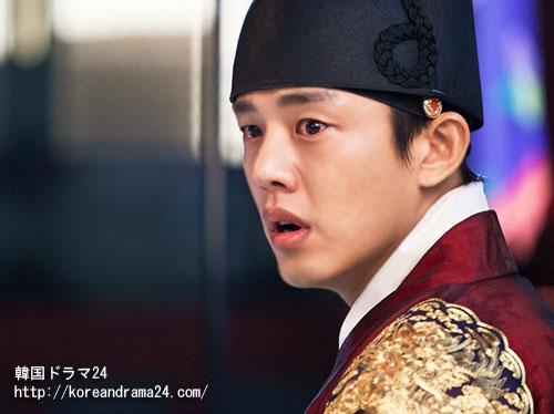 韓国ドラマ チャンオクチョン、愛に生きるあらすじ16話映像!ユアイン嵐のような涙予、一体何が?新たな局面に転換?