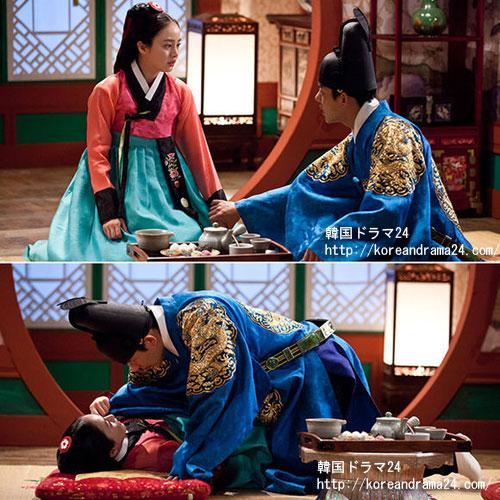 韓国ドラマおすすめ時代劇、チャンオクチョン、愛に生きるあらすじ7話予告!キムテヒ、ユアイン 、いよいよ初夜?