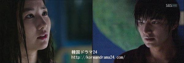 シティーハンター in Seoul あらすじ18話 動画、イミンホ、パクミニョン キャプチャ