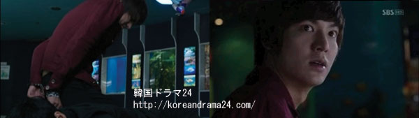 シティーハンター in Seoul あらすじ18話 動画、イミンホ キャプチャ