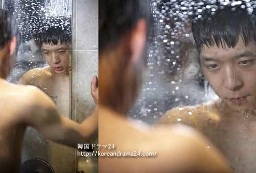 ミスリプリ-13話予告 ユチョン シャワー 画像1