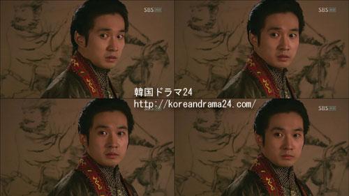 シンイ-信義あらすじ2話、恭愍(コンミン)王役を演じるリュドクファンの目つき演技映像、動画キャプチャ
