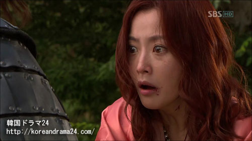 韓国ドラマおすすめ時代劇!イミンホ主演ドラマ、シンイ-信義あらすじ2話!ユウンス(キムヒソン)映像、動画キャプチャ