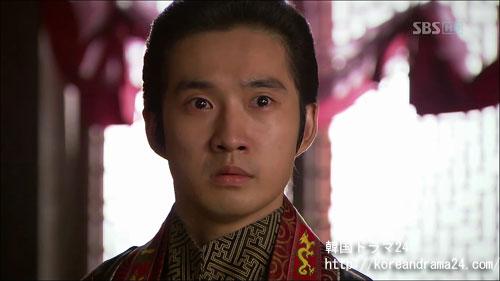 韓国ドラマ、おすすめの時代劇!シンイ-信義-あらすじ2話、恭愍(コンミン)王(リュ・ドクファン)映像、動画キャプチャ
