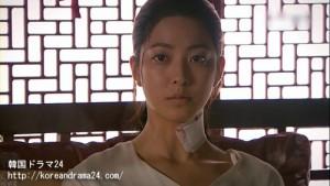 韓国ドラマ、おすすめの時代劇!シンイ-信義-あらすじ2話、魯国(ノグク)公主(パク・セヨン)映像、動画キャプチャ