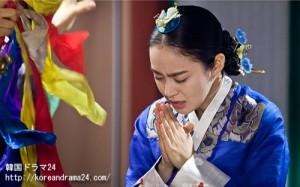 張禧嬪 キムテヒドラマ、チャンオクチョン、愛に生きるあらすじ23話予告映像!ホンスヒョンを呪うキムテヒ?世子ユン(昀)の祈りをするキムテヒ?