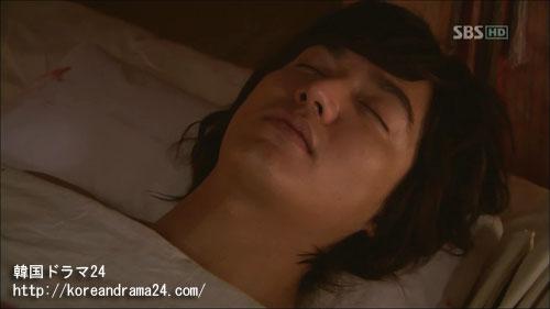 イ・ミンホ主演ドラマ、シンイ-信義-あらすじ3話画像、心と体に致命的な傷を負ったチェ・ヨン(イ・ミンホ)