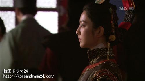韓国ドラマ シンイ-信義-あらすじ3話中、美しさと哀しさが蠱惑的なノグク公主(パク・セヨン)画像