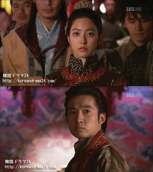 恭愍王(リュ・ドクファン)、魯国公主(パク・セヨン)画像