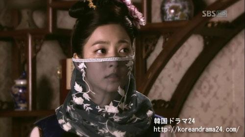 ノグク公主役を演じるパク・セヨン