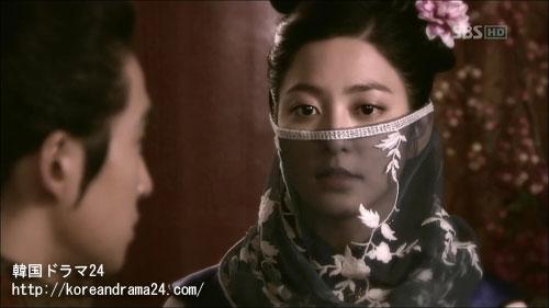 韓国ドラマ「シンイ-信義」おすすめの時代劇、あらすじ3話中、ノグク公主画像