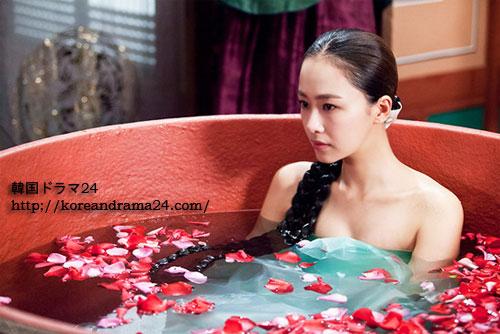 韓国ドラマ チャンオクチョン、愛に生きる13話予告映像!ホンスヨン官能的な入浴シーン写真公開!ホンスヒョン果たしてユアインとハッバンに成功するのか?