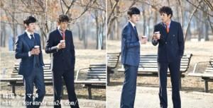 韓国ドラマ放送予定2013年4月1日スタート!'職場の神' オジホ&イヒジュン