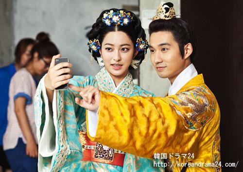 韓国ドラマ信義'魯国公主'役で熱演中のパク・セヨン