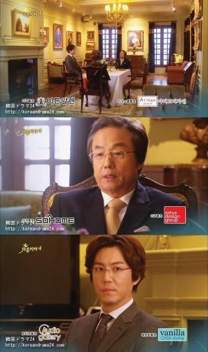 キム会長(チョン・ドンファン)&ユン・ジェホ(チェ・ウォンヨン)