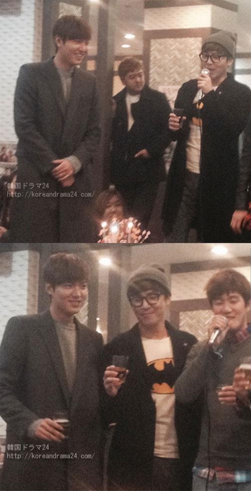 2013年韓国ドラマ 相続者たち打ち上げ画像