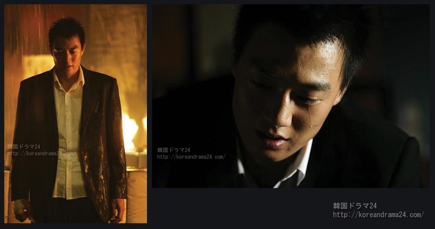 キム・レウォン 映画 江南(カンナム)ブルースでイ・ミンホとツートップに!アクションノワール映画2006年作「ひまわり(原題:해바라기)」画像