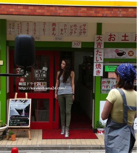 イダヘ リプリ- 韓国ドラマの撮影中