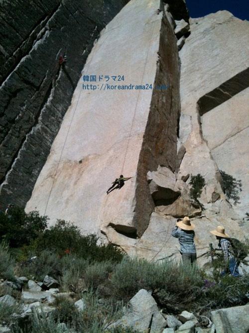 イミンホ ツイッター(Twitter) ロッククライミング(rock-climbing)写真公開!