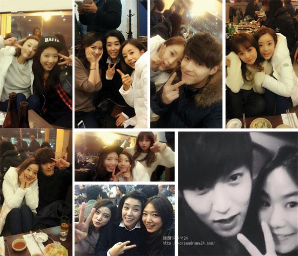 2013年韓国ドラマ 相続者たち 打ち上げ 画像 (写真出処:ユン・ソナ ブログ)