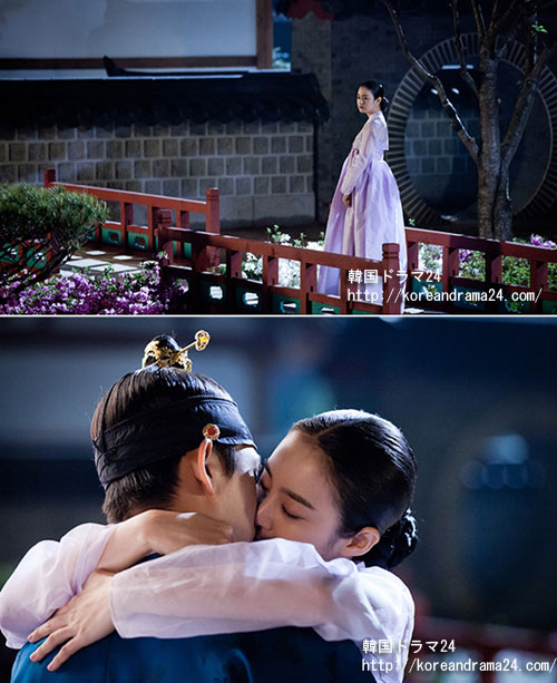 韓国ドラマ チャンオクチョン、愛に生きる13話予告映像!危険な魅力のキムテヒ、ユアインと月夜のキスシーン!