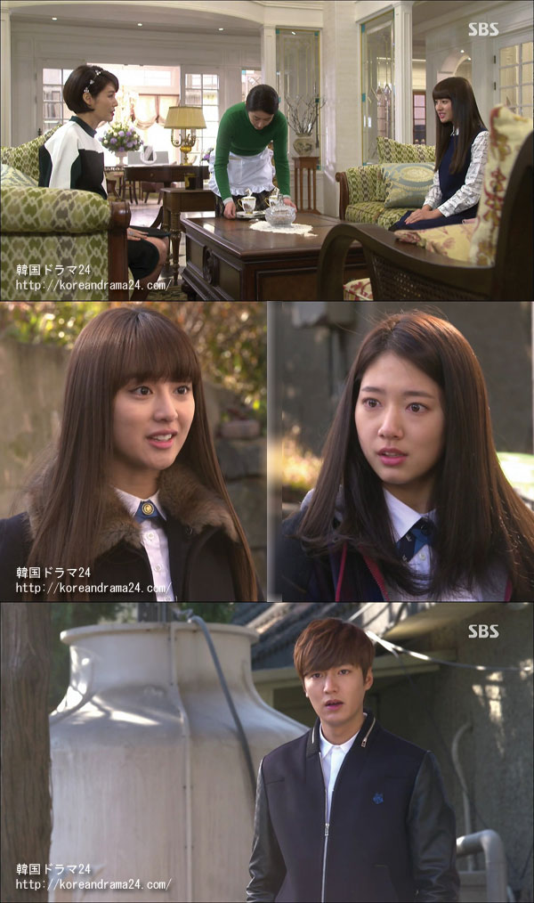 今人気の韓国ドラマを見る イ・ミンホ主演 相続者たち 動画キャプチャ