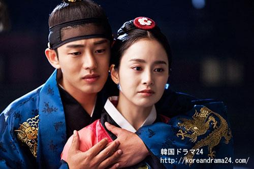 韓国ドラマおすすめ時代劇、キムテヒ、ユアイン最新作、チャンオクチョン、愛に生きる9話予告!ユアイン、キムテヒ、月明かりの下バックハグ!