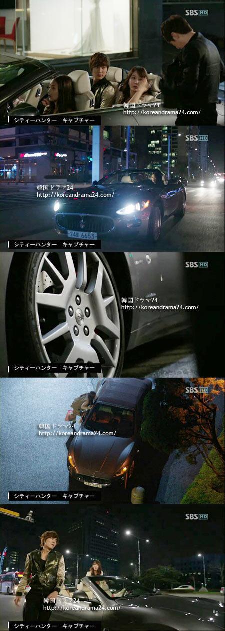 シティ-ハンタ-1話 マセラティグランカブリオ(Maserati-GranCabrio)-1